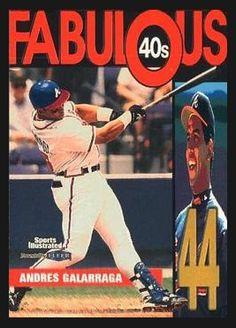 Andres Galarraga Atlanta Braves, Mlb, Baseball Cards, Sports, Hs Sports, Sport