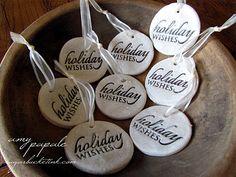 Salt Dough Tags/Ornaments