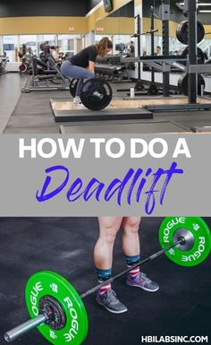 Learn how to do a deadlift and then utilize this compound movement to ensure that you get to your fitness goals the right way. Workout Tips Home Weight Workout, Beginner Workout At Home, Weight Workouts, Fun Workouts, At Home Workouts, Workout Ideas, Health And Fitness Tips, Fitness Goals, Workout Fitness