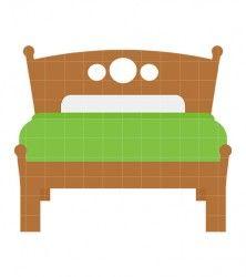 Papa Bed Clip Art