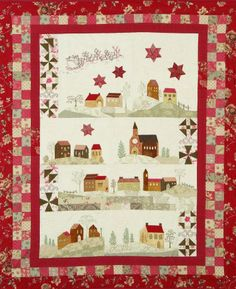Quilt Inspiration: Christmas around the world: Italy