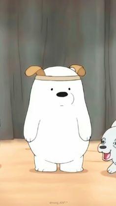 We bare bears Ice Bear We Bare Bears, We Bear, Cartoon Profile Pics, Cartoon Pics, Disney Canvas Art, We Bare Bears Wallpapers, Animated Icons, Bear Wallpaper, Bear Cartoon