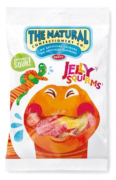 The Natural Confectionery Company | Packaging of the World: Creative Package Design Archive and Gallery