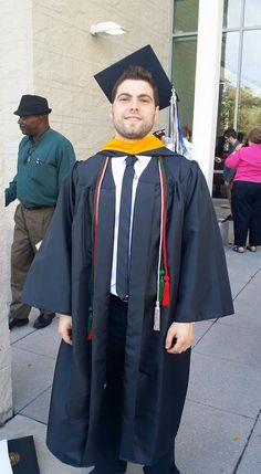 Congratulations Tim!!!!! Stockton University Graduate!!!!
