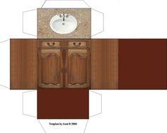 bathroom vanity/sink: