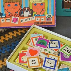 jeu de rébus vintage - deco-graphic.com