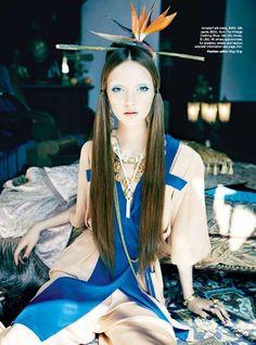 """Orient Excess"" | Model: Codie Young, Photographer: Nicole Bentley, Vogue Australia, April 2011"