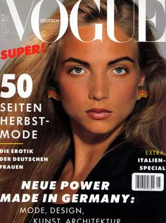 Rachel Williams - Vogue Germany Aug 1988