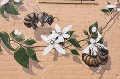 Kunstprojekt gegen das Bienensterben #Öko #Umwelt  #Bienensterben #Kunst