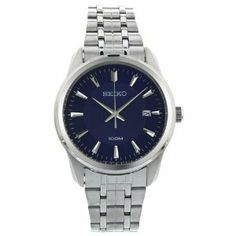 Seiko Casual Stainless Steel Sgeg03 Watches For Men, Wrist Watches, Women's Watches, Dream Watches, Beautiful Watches, Stainless Steel Case, Seiko, Fashion Watches, Omega Watch