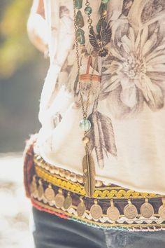 Love the boho belt.