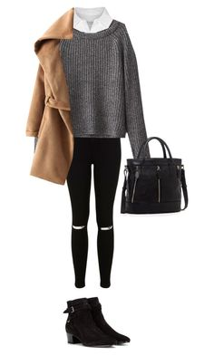 """#106"" by bluesrocklove ❤ liked on Polyvore featuring Equipment, Miss Selfridge, Yves Saint Laurent and SUSU"