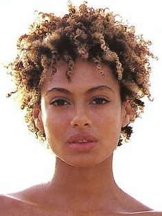 Short Natural Hair Styles | Celebrity Short Hair Cuts. Shakara Ledard. Short To Medium Brown ...