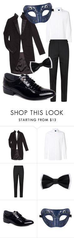 """Masquerade Ball boy"" by starsgoblue12 on Polyvore featuring Chanel, Barba, Tom Ford, men's fashion and menswear"