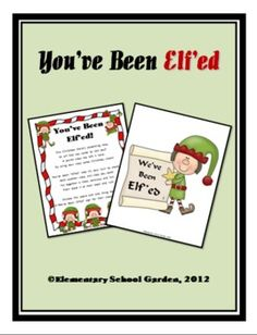 You've Been Elf'ed - A fun and FREE Christmas Activity for your School