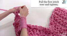 Video: Arm Knitting for Beginners