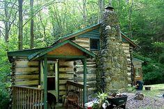cabin life -