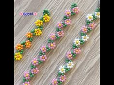 Diy Crafts Jewelry, Beaded Crafts, Bracelet Crafts, Beaded Bracelets Tutorial, Seed Bead Bracelets, Seed Bead Jewelry, Beard Jewelry, Crochet Flower Tutorial, Beaded Jewelry Patterns