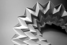 structural folding | News Linda Hagberg: Deployable and Transformable Paper Structures