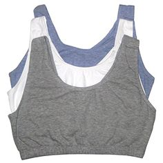 3bba191e56 Fruit of the Loom Women s 3 PR Built-Up Sportsbra
