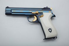 """Sig P210 pistol. To the informed this is a match grade work of genius """" WH"""