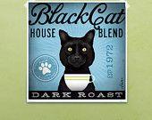 Tabby Cat Coffee Company (artwork on canvas).