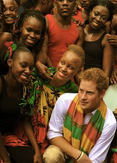 Prince Harry's recent visit to the island !