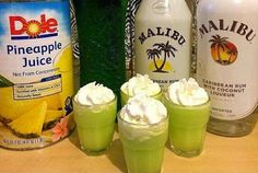 Scooby Snack 1 oz. Melon Liqueur 1 oz. Coconut Rum 1/2 oz. Pineapple Juice 1 1/2 oz. Whipped Cream Pour all ingredient into a stainless steel shaker over ice. Shake until well mixed and sufficiently chilled. Strain into a shot glass.