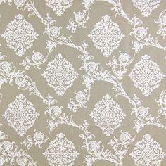 French Ornament 3 - Baumwolle - beige