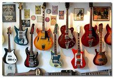 guitar wall- for Tony