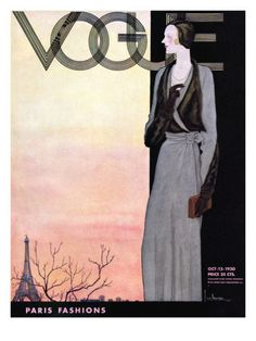 Vogue Cover - October 1930.