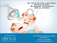 No matter what size your mouth is, or what your dental concerns are, we have excellent solutions. #dtd #dtdla
