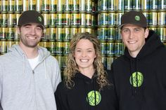 Kevin, Kevin and Meghann at Bale Breaker Brewing, Moxee, WA. - Met this trio last night! Great people dedicated to craft brewing. Delicious results!