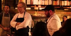 Chep Aaron Verzosa cooking for SouthBites & Williams Sonoma Culinary Crossroads dinner   SXSW 2015