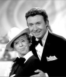 Peter Alexander mit Inge Meysel