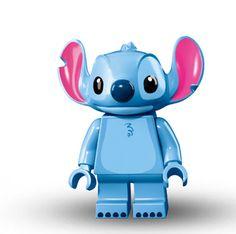 Lego Minifigure Serie Disney, Stich