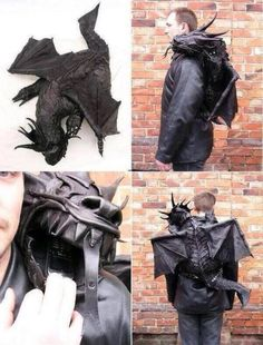IT'S A DRAGON BACKPACK!!!!!!! YOU GET YOUR VERY OWN DRAGON!!!!! I NEED IT!!!! I NEED IT!!!!