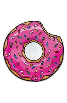 A super cute donut beach towel? Yes, please! We'll take a dozen.
