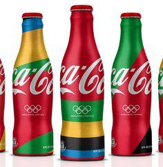 COCA COLA BRANDING FOR LONDON 2012 OLYMPICS