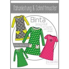 ki-ba-doo - Schnittmuster - A-Linien-Kleid Binta - Girls