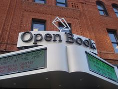 Open Book in Minneapolis. Photo by Mykl Roventine.