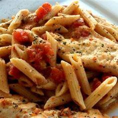 Creamy Parmesan and Sun-Dried Tomato Chicken Penne Allrecipes.com