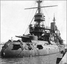 Imperial Russian Navy battleship Tsesarevich 1904