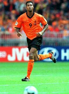 Patrick Kluivert of Holland in action at Euro 2000.