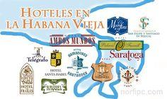 Hoteles, alojamiento y hospedaje en la Habana Vieja, Cuba