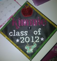 Mortar board submitted by #USF graduate Kimberly S. Duink.