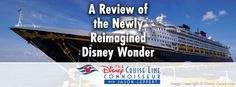 I had the recent pleasure of previewing Disney Cruise Line's newly refurbished Disney Wonder fresh out of dry-dock, and from the experience I produced another one of my signature video reviews, hosted at my Popular Cruising YouTube channel and embedded below. Come along with us as we take a look at new and retooled spaces…