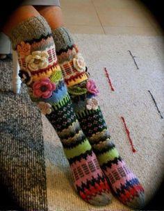 Calze lana