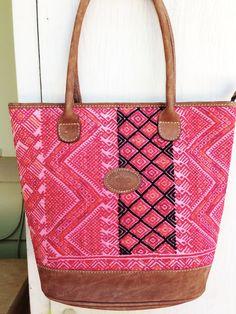 Hand Embroidered Handbag Purse Guatemalan by Artesaniasdeguate