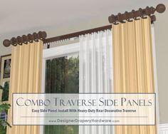 Http Www Designerdraperyhardware Decorative Traverse Rods